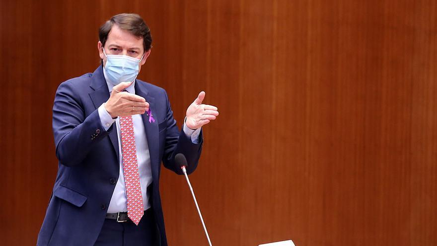 """Mañueco, sobre los indultos: """"Lo único que van a generar es confusión en Cataluña"""""""
