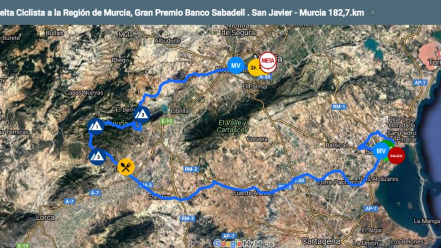 Diecinueve equipos, en la Vuelta a Murcia-Banco Sabadell