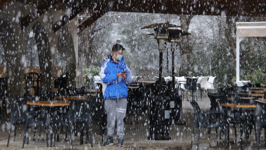 La nieve vuelve a Banyeres