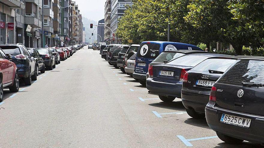 Mieres y Langreo, dos vías para aparcar