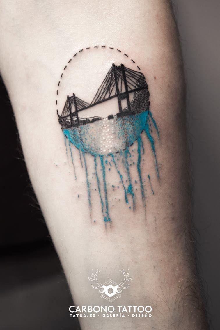 El Puente de Rande. // Miguel Castro (Carbono Tattoo)