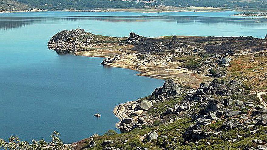 La reserva hídrica del Miño está al 46%, lejos de la media del 70% en diez años