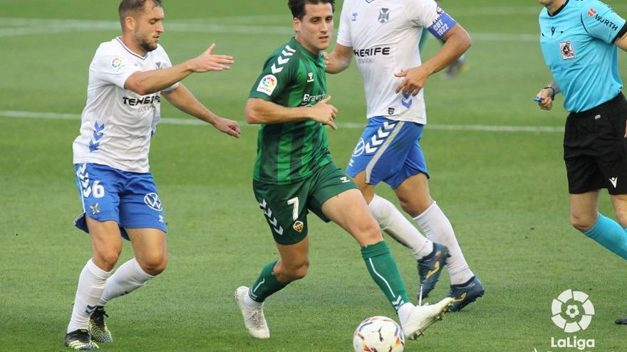 La racanería priva al Castellón de tres puntos de oro en Tenerife (1-1)