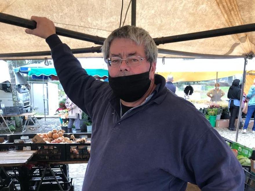 Manuel Rolo, vendedor de fruta