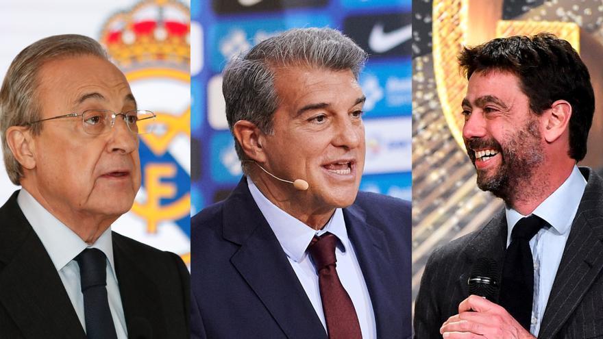 """Madrid, Barcelona y Juventus rechazan cualquier """"coacción o presión"""" de la UEFA"""