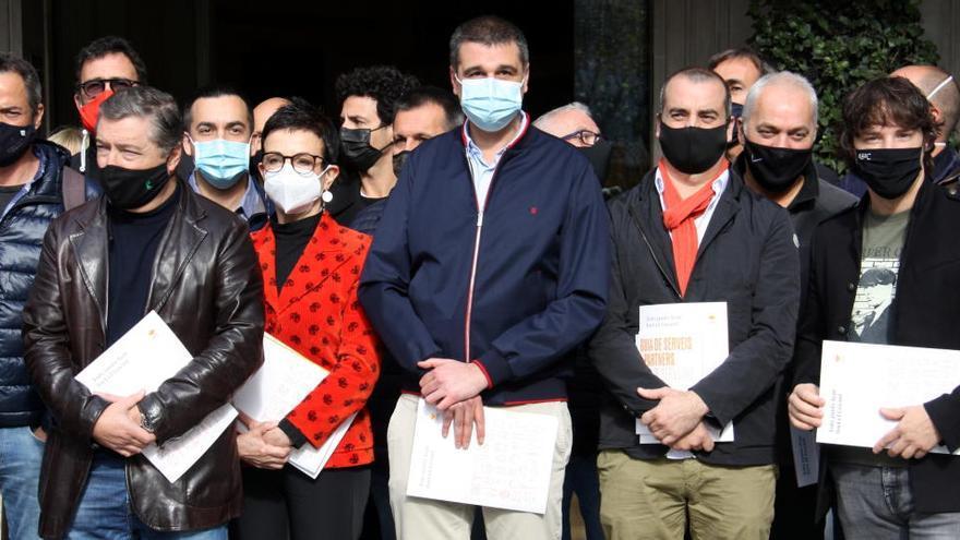 La restauració reclama a la Generalitat l'obertura «immediata» dels bars i restaurants