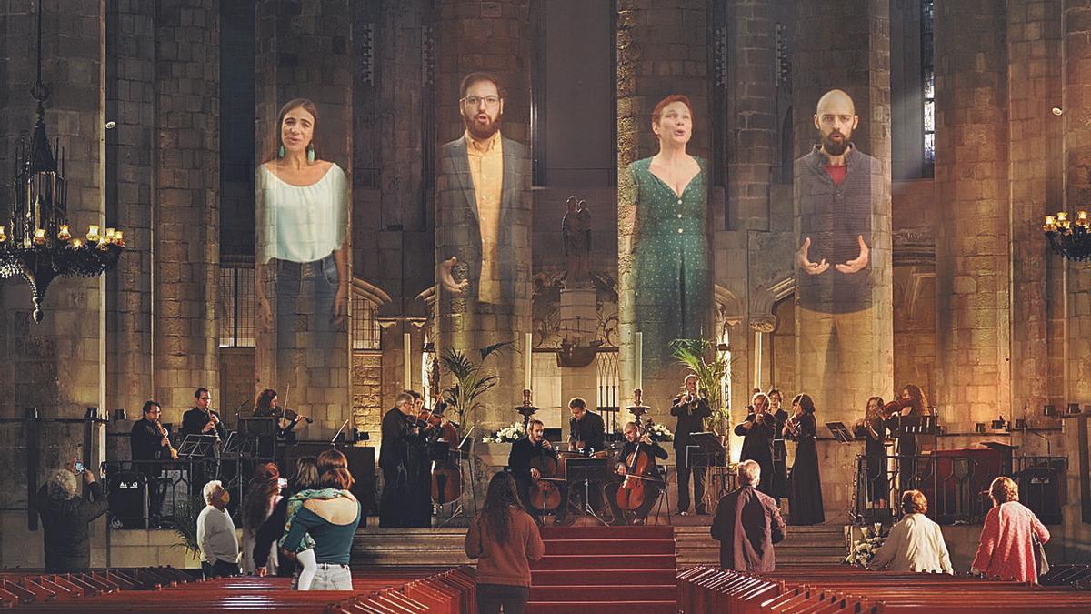 """La Fundación """"LA CAIXA"""" promueve un vídeo participativo con el Aleluya de Händel."""
