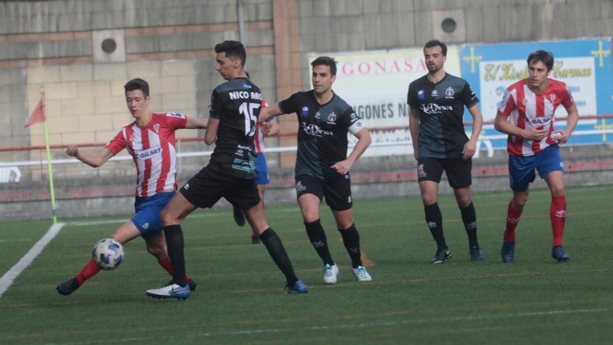 L'Entregu remonta al Tuilla y se clasifica entre los tres primeros para la segunda fase de la Tercera División de Asturias
