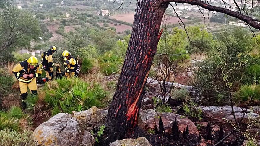 Mallorca sigue bajo  la influencia de la gota fría hasta esta tarde