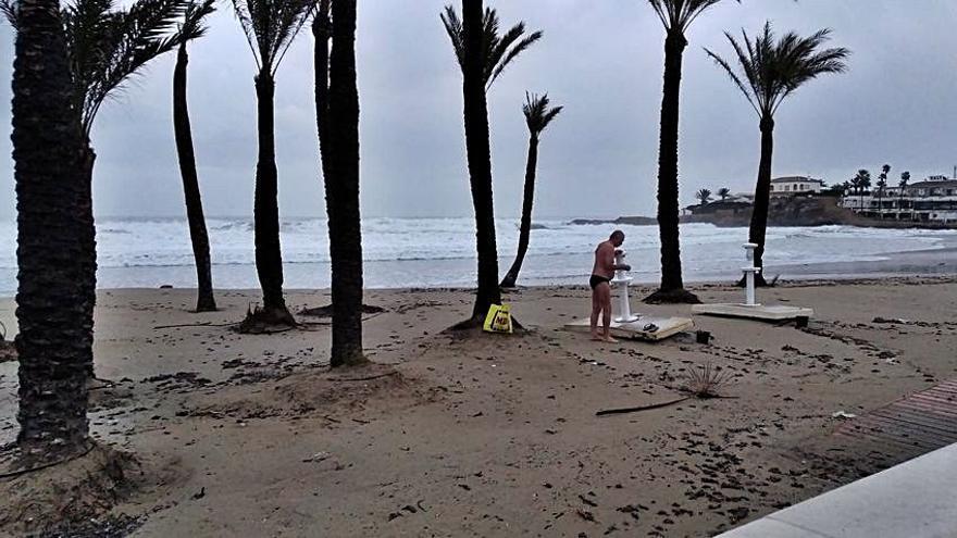 Chapuzón pese al temporal Filomena