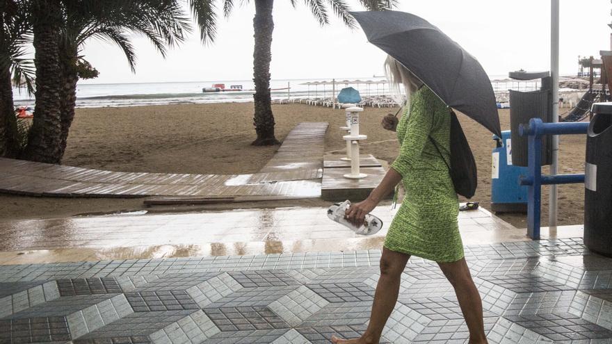 Primeras lluvias en una provincia que escapa de la alerta generalizada en España
