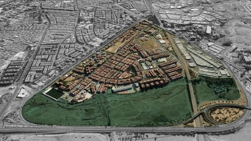 Las obras del Parque de Levante, previstas para noviembre