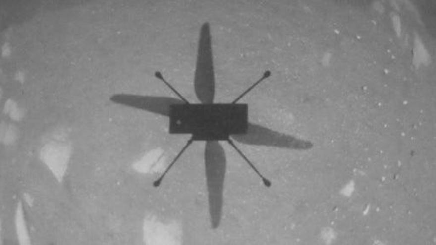 L'Ingenuity de la NASA es converteix en el primer helicòpter a volar en un altre planeta