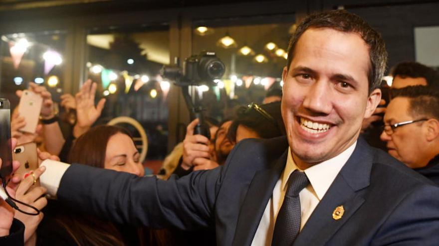 Guaidó dará un mitin el sábado en Madrid