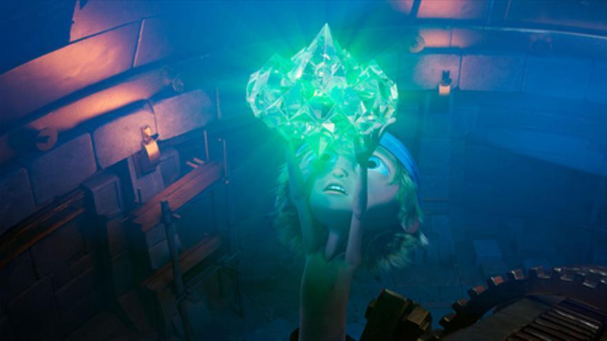 Capitán Diente de Sable y el diamante mágico