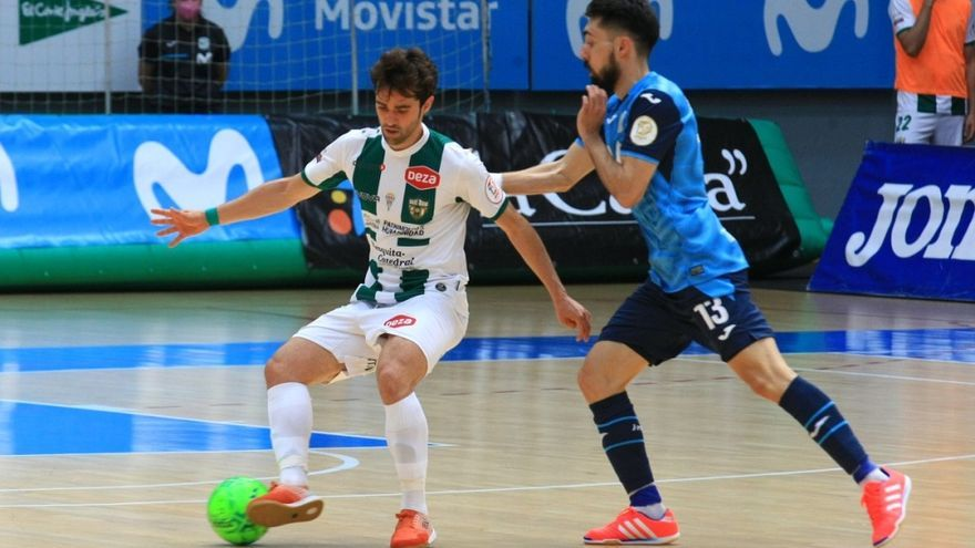 El Córdoba Futsal merece más tras plantar cara al Movistar Inter