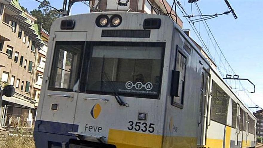 Cinco empresas optan a suministrar el balasto para la renovación de la línea Gijón-Laviana