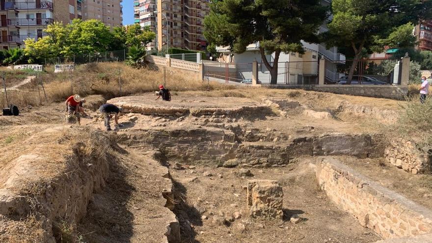 Alicante prevé convertir el yacimiento del Parque de las Naciones en un museo al aire libre