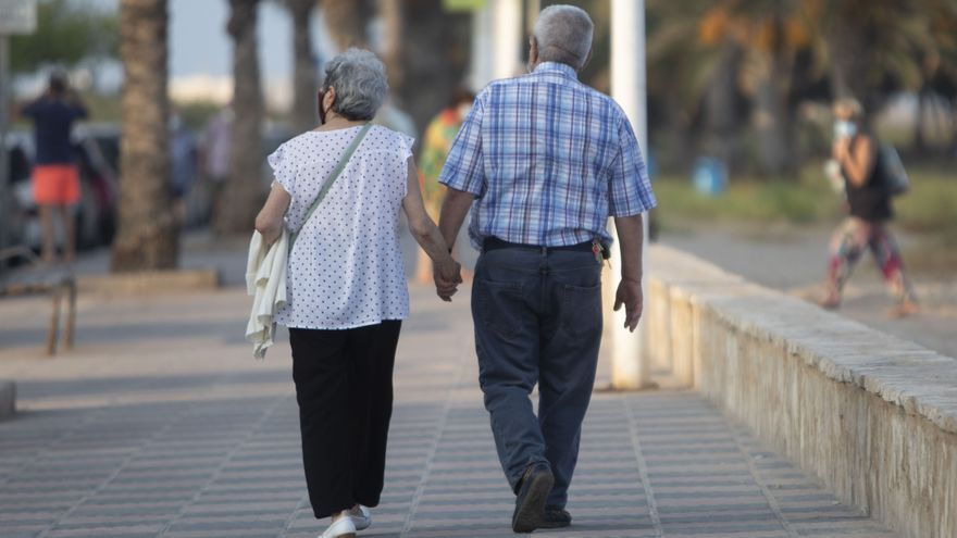 El covid deja menos de dos trabajadores por cada pensionista en Castellón