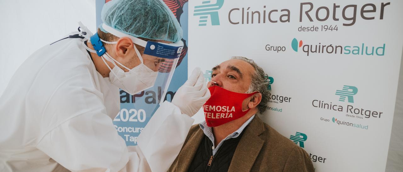 El concurso TaPalma más seguro practica PCR a público y participantes