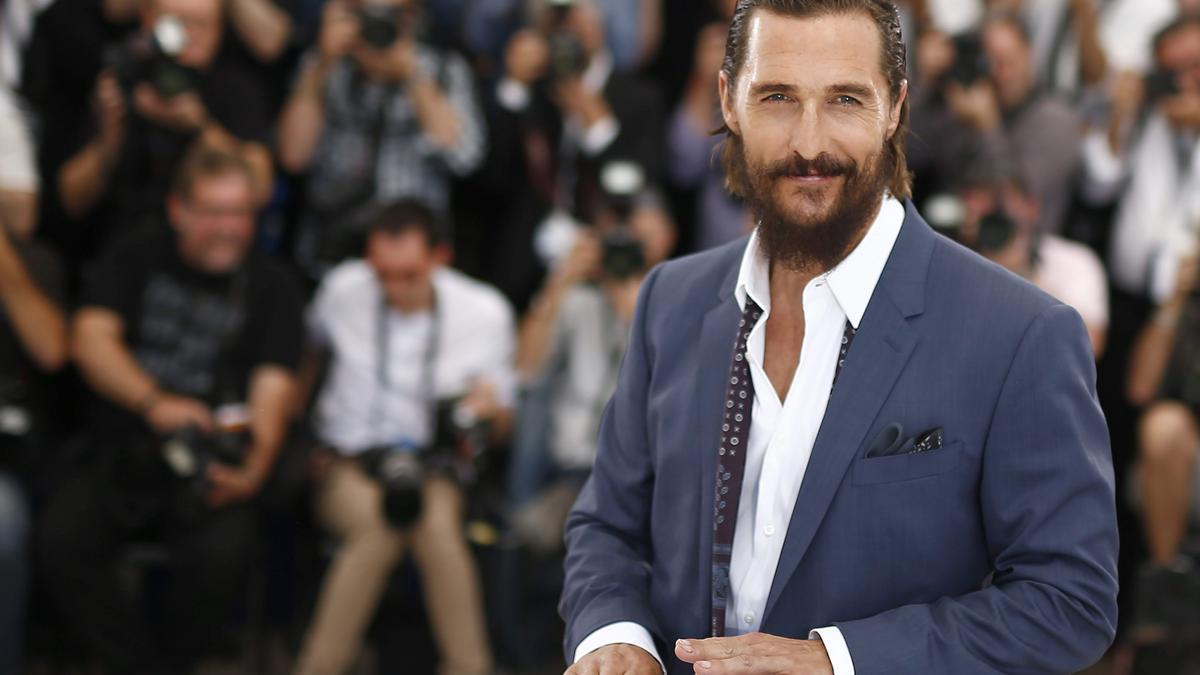 El actor estadounidense Matthew McConaughey .