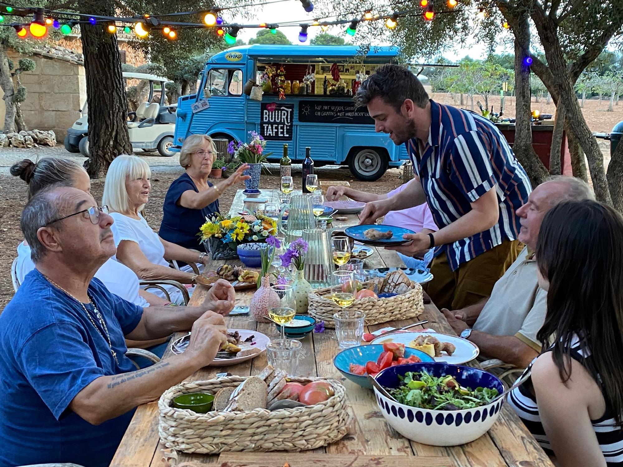 El programa gastronómico estrella de la televisión holandesa se graba en Mallorca