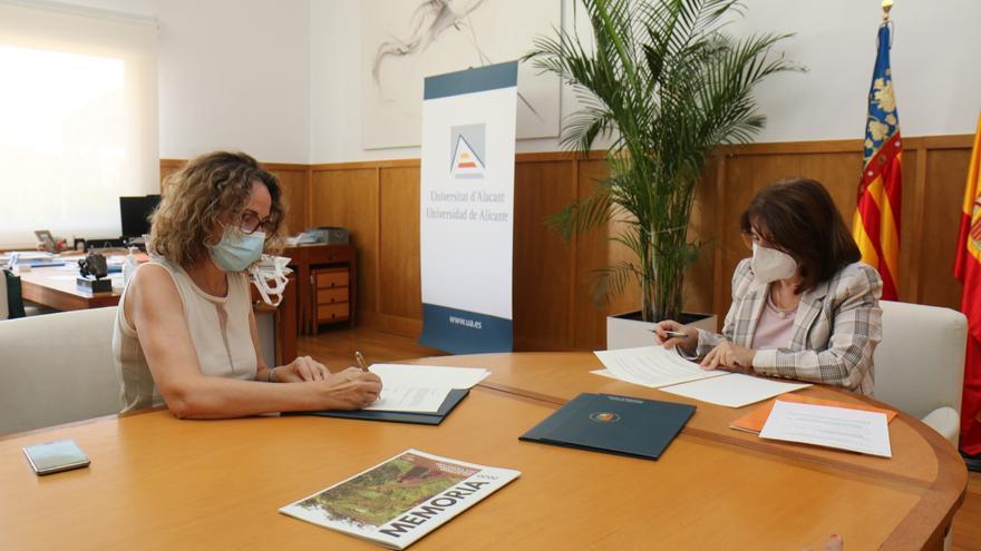 La UA y Solidaritat Internacional País Valencià firman un convenio de colaboración