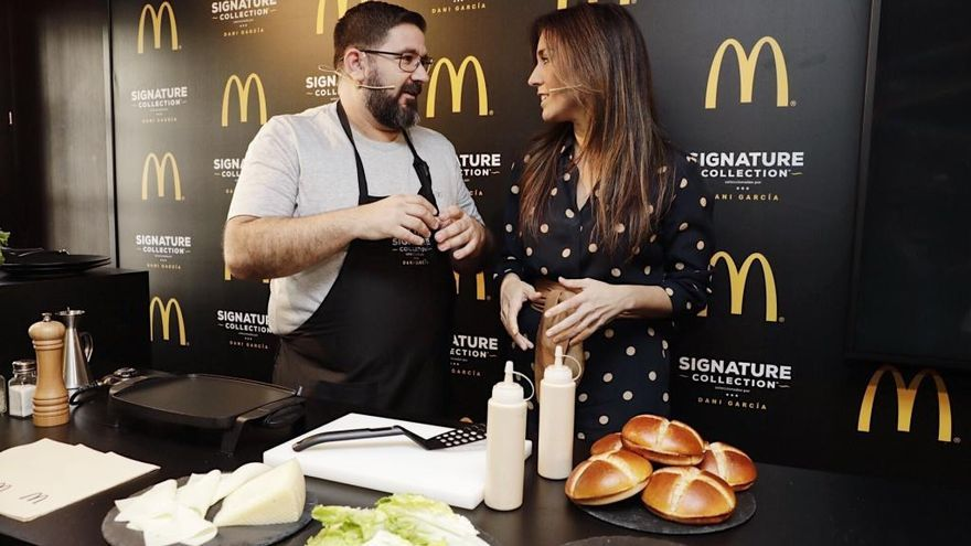 McDonald's se alía con Dani García para sacar hamburguesas gourmet