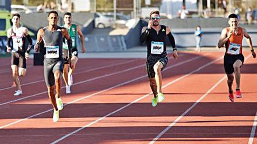 Óscar Husillos: «Estoy muy contento con mi tiempo, pero lo puedo mejorar en dos semanas»