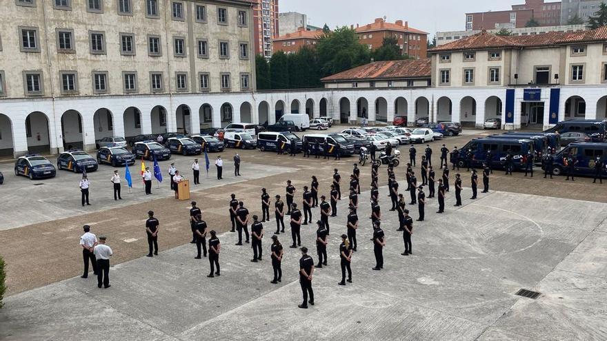 La Policía Nacional se refuerza en Asturias con cuarenta y cuatro Policías en prácticas