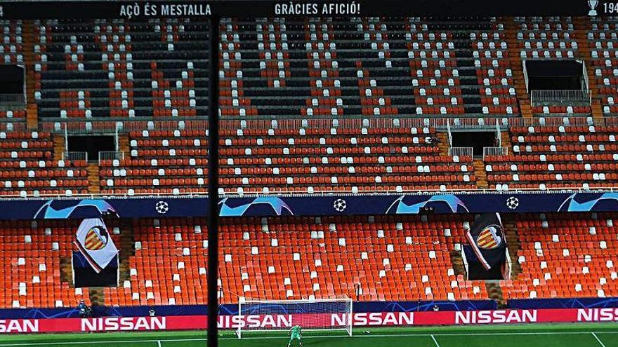 Liga sin público | ¿En qué lugar queda el Valencia CF?