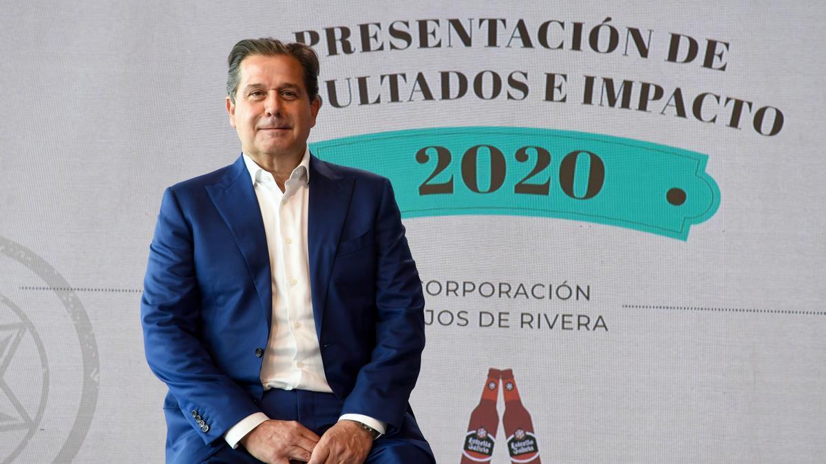 Ignacio Rivera, CEO de la Corporación Hijos de Rivera.