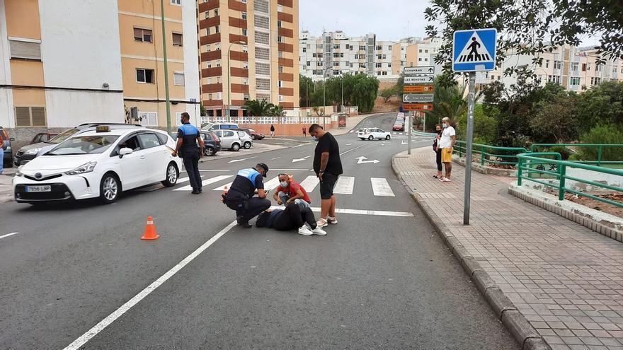 Identificado el motorista fugado que causó un atropello en Las Rehoyas