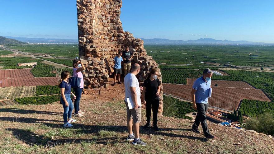 Tecnología punta del siglo XXI para recuperar un castillo de Castellón del IX