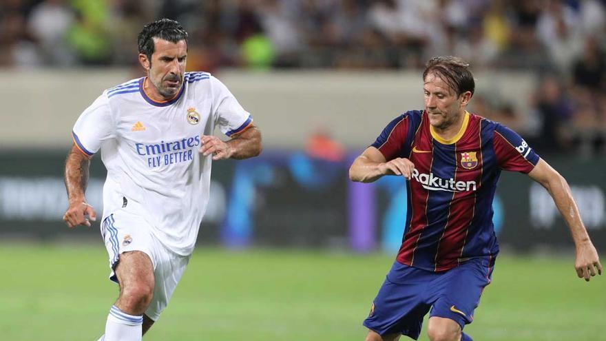 El Madrid gana el clásico de los veteranos