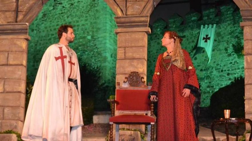 Silvia Carrasco, pregonera del XVIII Festival Templario de Jerez de los Caballeros