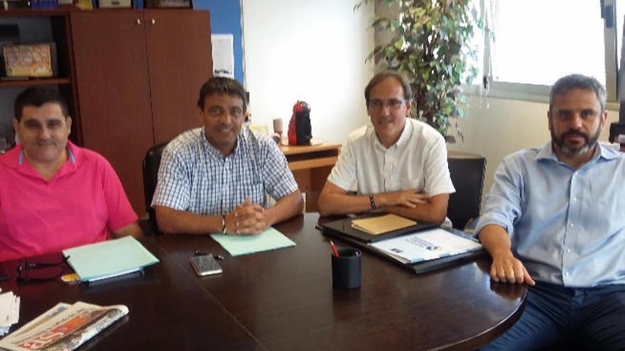El Cabildo apoya el Desafío de Puntales en el Gran Canaria Arena