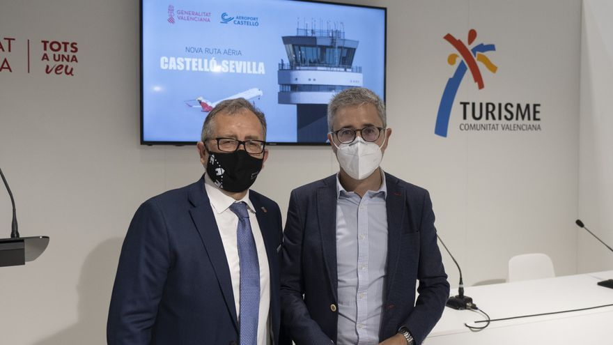La provincia promocionará las conexiones aéreas con Sevilla y Bilbao