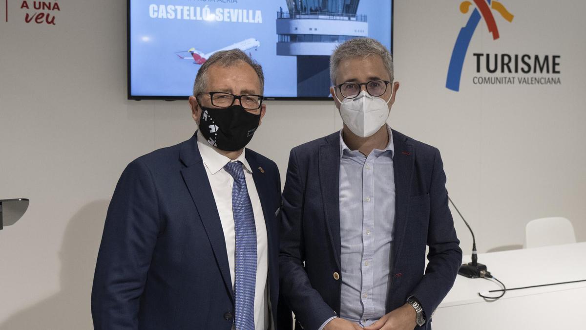 José Martí y el conseller Arcadi España unen esfuerzos para promocionar el turismo castellonense