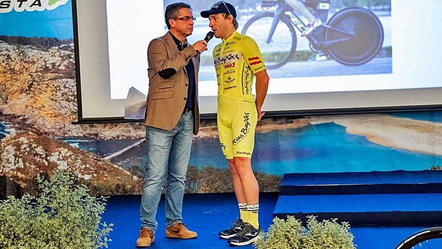 El estradense Cristóbal Dios renueva con el Club Ciclista Vigo Rías Baixas