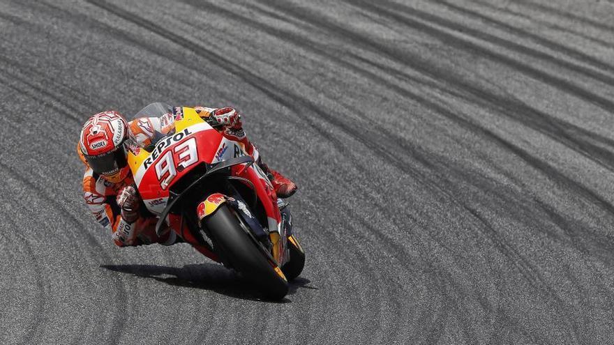 Márquez manté el seu idil·li amb Sachsenring i aconsegueix la «pole»