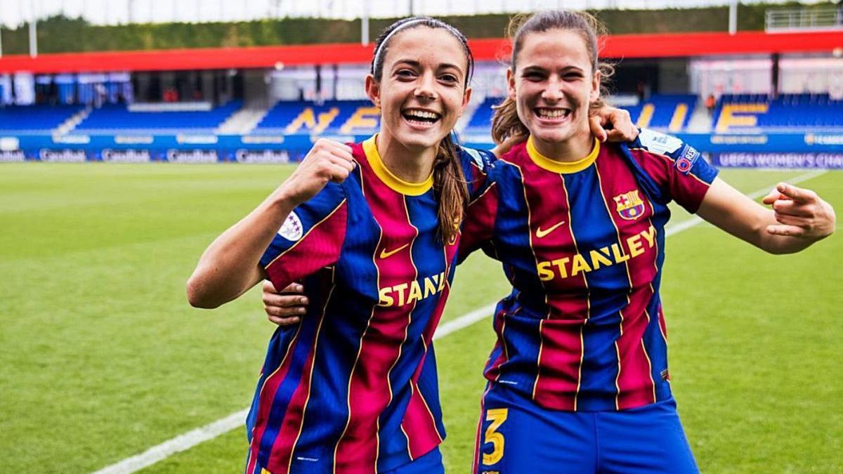 El Barça de la gironina Laia Codina jugarà la final de la Lliga de Campions