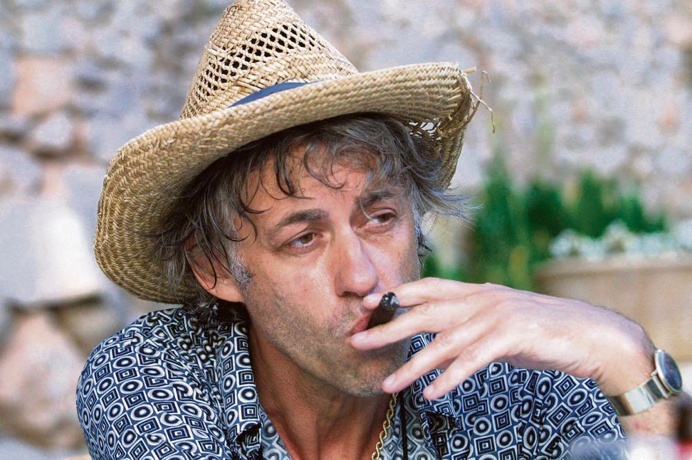 El músico y activista Bob Geldof.