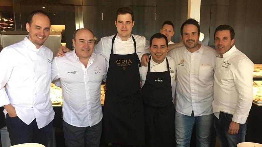 Miguel Barrera, protagonista en una comida con 13 estrellas Michelin y 16 Soles Repsol