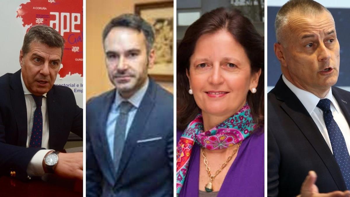 Miguel Ángel Vázquez, Fernando Guldrís, Blanca Montero y Jorge Cebreiros participan en el seminario Webinar sobre fondos europeos
