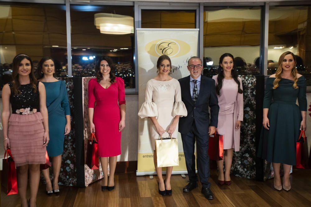 La firma Entretelares presentó las telas que lucirá la corte mayor de la fallera mayor de València 2020, Consuelo Llobell