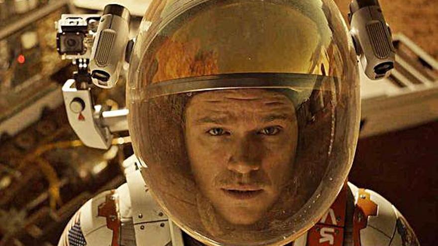 9 películas y series para ir a Marte