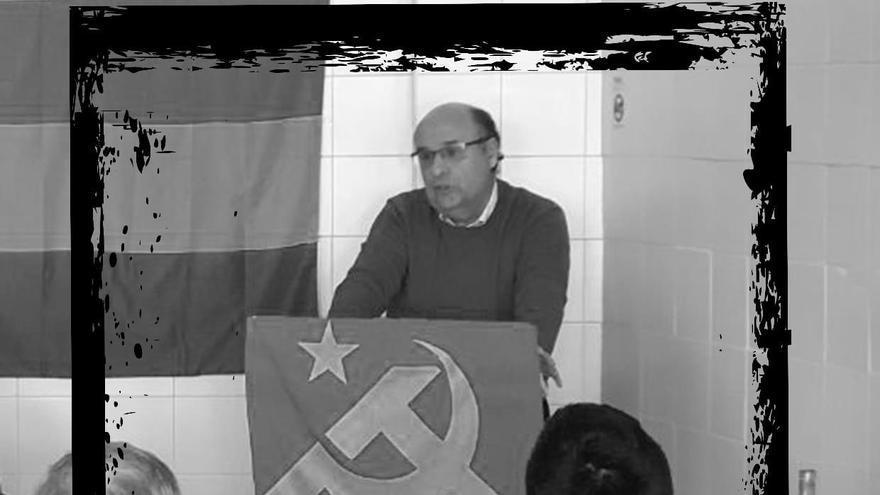 Fallece Carlos Canelo, secretario general del Partido Comunista de Extremadura