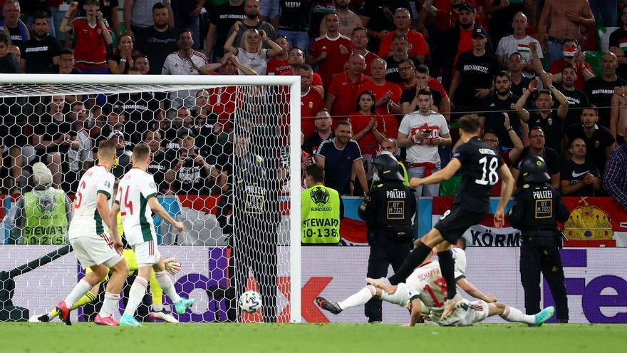 Goretzka salva a Alemania y elimina a Hungría