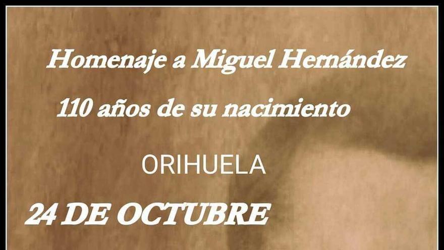 La asociación La Platea de Quart de Poblet rendirá homenaje a Miguel Hernández